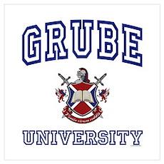GRUBE University Poster