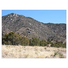 Desert Mountain 4 Poster