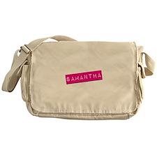 Samantha Punchtape Messenger Bag