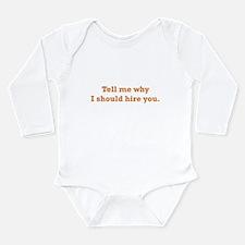 Why I should Hire Long Sleeve Infant Bodysuit