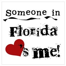 Someone in Florida Poster