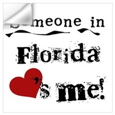 Someone in Florida Wall Decal