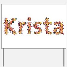 Krista Fiesta Yard Sign