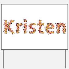 Kristen Fiesta Yard Sign