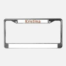 Kristina Fiesta License Plate Frame