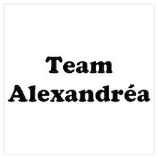 Team Alexandrea Poster