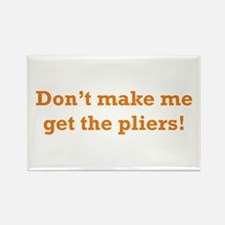 Get the Pliers Rectangle Magnet (10 pack)