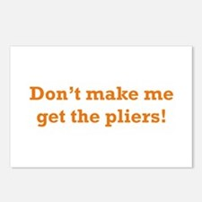 Get the Pliers Postcards (Package of 8)