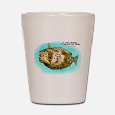 Long-Spine Porcupine Fish Shot Glass