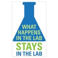 In The Lab Poster