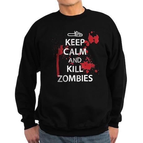 Keep Calm Sweatshirt (dark)
