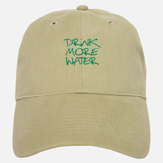 Drink More Water_Blue2 Baseball Baseball Cap