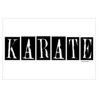 """""""Karate"""" 1 Poster"""