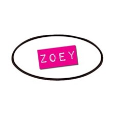Zoey Punchtape Patches