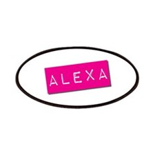 Alexa Punchtape Patches