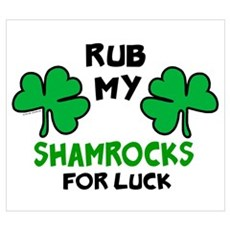 Rub My Shamrocks 1 Framed Print