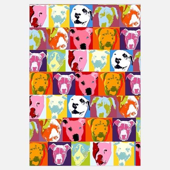 Pop Art Pit Bulls
