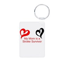 My Mom Is a Stroke Survivor Keychains