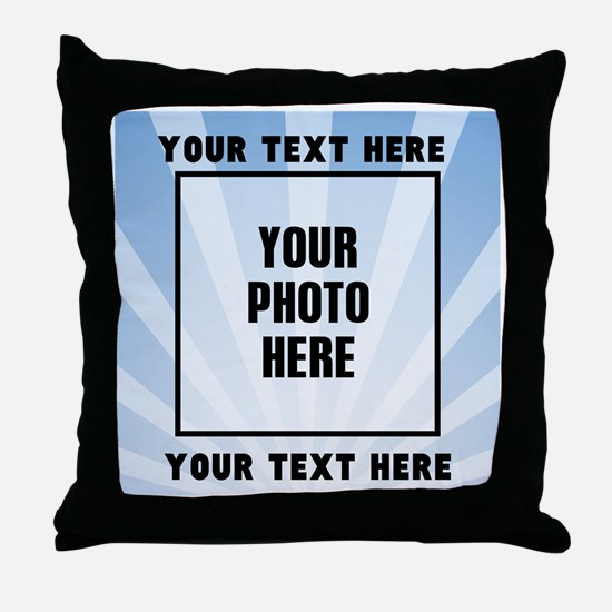 Personalized Sports Throw Pillow