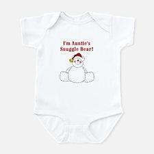 Auntie's Snuggle Bear Infant Bodysuit