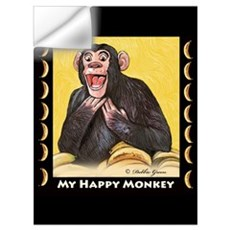 My Happy Monkey Wall Decal
