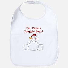 Papa's Snuggle Bear Bib