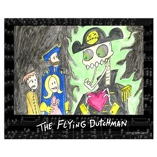 The Flying Dutchman Poster
