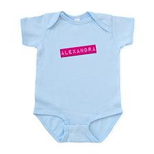 Alexandra Punchtape Infant Bodysuit