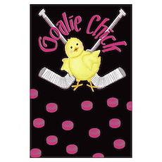 Goalie Chick Poster