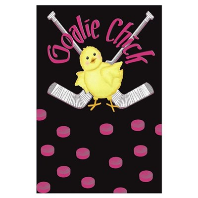 Goalie Chick Poster