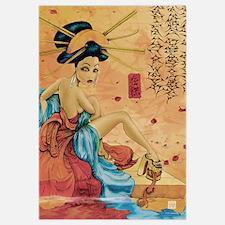 Geisha Reflection 11 x 17 Print