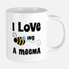 Cute Grandma to bee 20 oz Ceramic Mega Mug