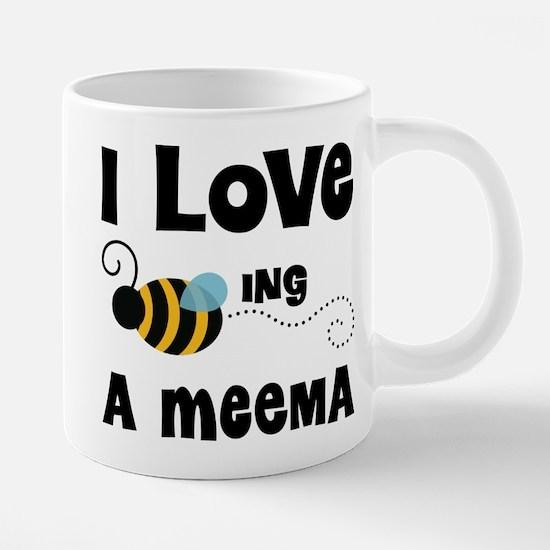 I Love Being A Meema 20 oz Ceramic Mega Mug