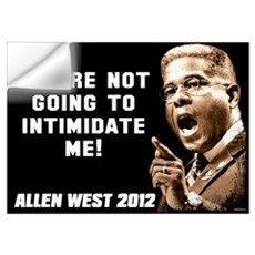 Allen West - Intimidate Wall Decal