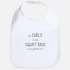 No curls in the squat rack Bib