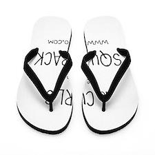 No curls in the squat rack Flip Flops