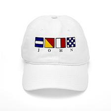 nautical john Baseball Cap