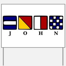 nautical john Yard Sign