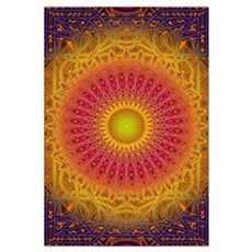 New Dawn Mandala Framed Print