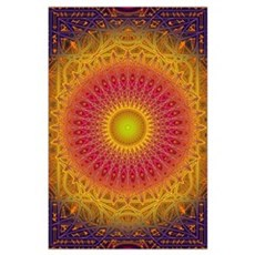 New Dawn Mandala Poster