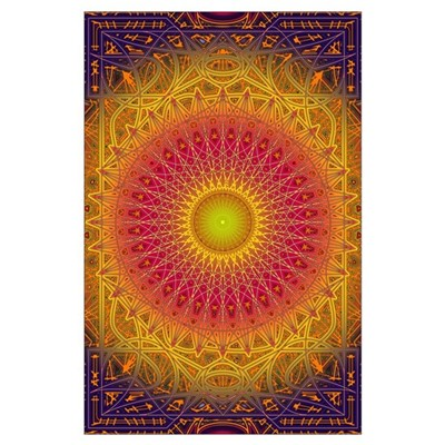 New Dawn Mandala Poster