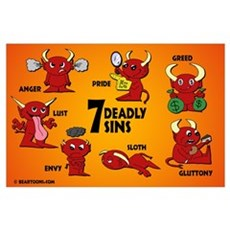 Seven Deadly Sins Poster