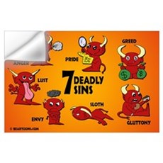 Seven Deadly Sins Wall Decal