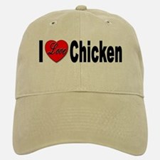 I Love Chicken Baseball Baseball Cap