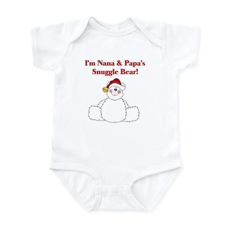 Nana and Papa's Snuggle Bear Infant Bodysuit