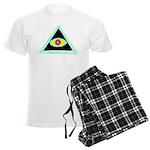 Badass Illuminati Men's Light Pajamas