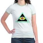 Badass Illuminati Jr. Ringer T-Shirt