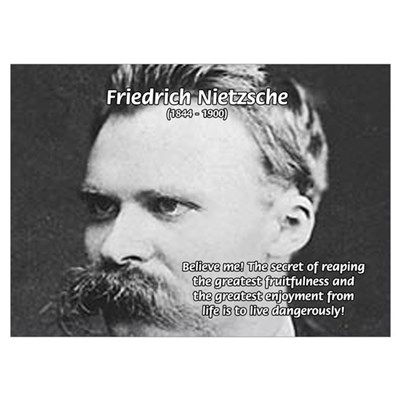 Nietzsche: Live Dangerously Poster