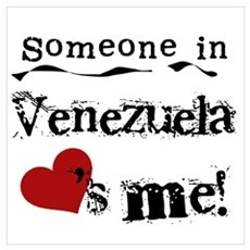 Venezuela Loves Me Framed Print