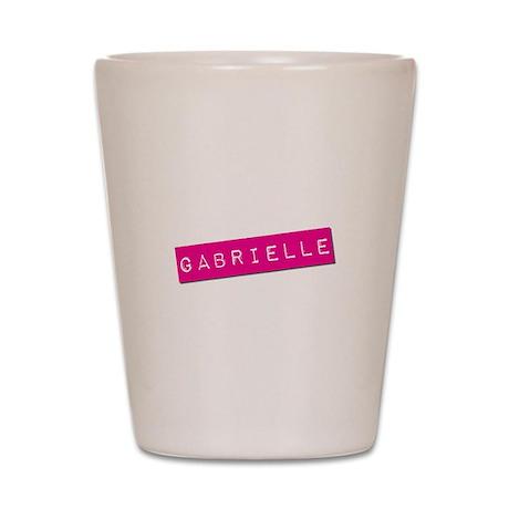 Gabrielle Punchtape Shot Glass